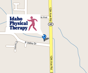 Idaho Physical Therapy Nampa Clinic Map
